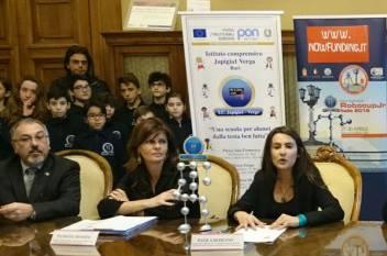 Bari 23 febbraio. Presentazione VIII edizione Robocup Jr Italia