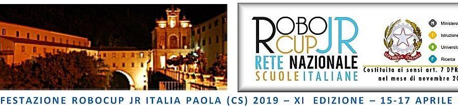 ROBOCUP JR ITALIA 2019 – XI EDIZIONE